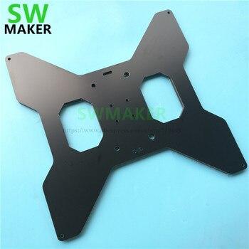 SWMAKER TEVO Tarantula 3D принтер алюминиевый композит MGN12H каретки версия Y каретки жесткая пластина с подогревом поддержка обновления