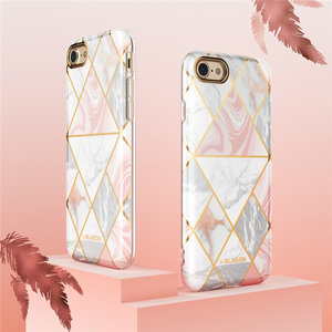 Image 4 - I BLASON For iphone 7 8 Case For iPhone SE 2020 Case Cosmo Lite Stylish Hybrid Premium Protective Slim Bumper Marble Back Cover