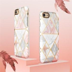 Image 4 - Женский чехол для iphone 7 8, чехол для iPhone SE 2020, стильный Гибридный Премиум Защитный Тонкий бампер Cosmo Lite, Мраморная задняя крышка