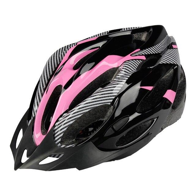Unisex capacete de bicicleta mtb ciclismo estrada mountain bike esportes capacete de segurança luz ciclismo capacete da bicicleta ultraleve 6