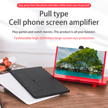 Magnifier Watch Smart-Phone-Bracket-Holder Mobile-Phone-Screen 12inch 3D HD Movies