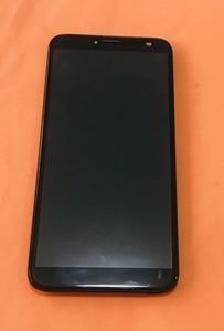 Image 1 - تستخدم الأصلي شاشة الكريستال السائل شاشة تعمل باللمس الإطار ل Oukitel C8 4G MTK6737 رباعية النواة شحن مجاني