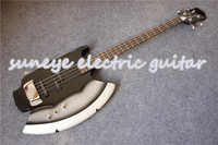 Cort SIMMONS AXE Style 4 String Electric Bass Guitar Chrome Hardware Cort Guitar Bass 4 String In Stock