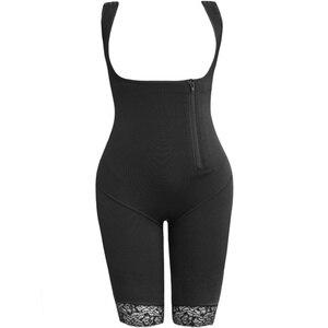 Image 5 - Kadın bel eğitmen zayıflama vücut şekillendirici Feminino Bodysuits modelleme kayışı firma Shapewear Bodysuit 6XL artı boyutu