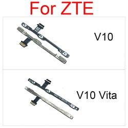 Cabo flexível de volume de energia para zte v10 v10 vita power on off botão lado chave flex fita peças de reparo