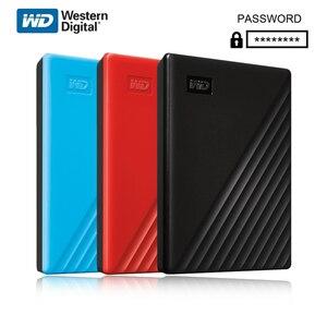 New Western Digital WD My Passport 1TB 2TB External Hard Drive USB 3.0 password protection 4TB 5TB HDD Portable Mobile Hard Dis
