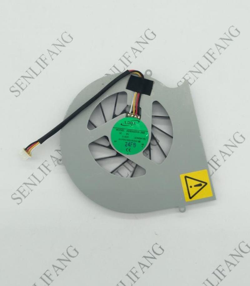 Free Shipping AD6005HX-JBB CWQK1B DC 5V 0.50A 4-Wire Server Laptop Fan