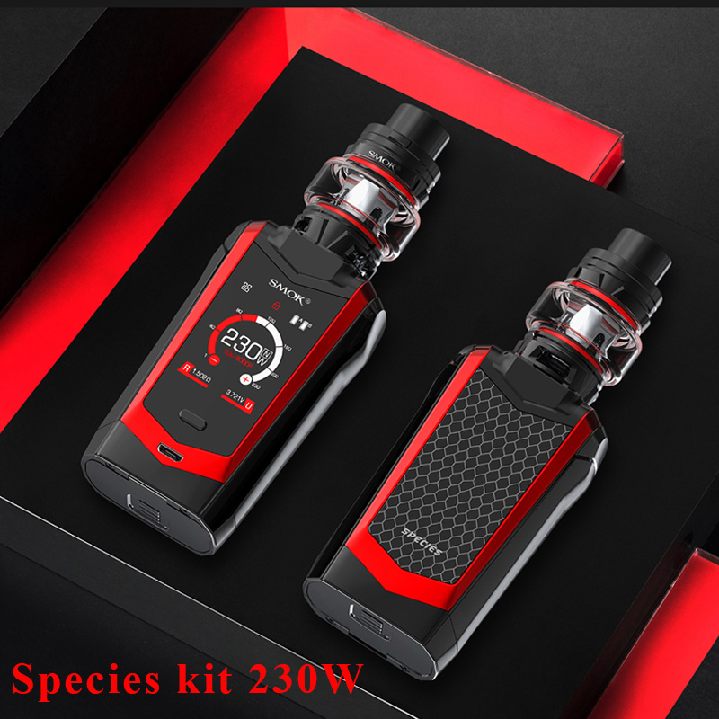 Kit Original pour espèces de SMOK 230W kit de mod pour boîte smok avec réservoir tfv8 bébé v2 5ml et bobines tfv8 pour bébé vs kit x-priv aegis legend DRAG 2