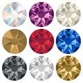 YANRUO 2088 8big 8 samll Сделай Сам исправление хрусталя и искусственного алмаза камни для изготовления поделок плоские задние стразы наклейка плать...