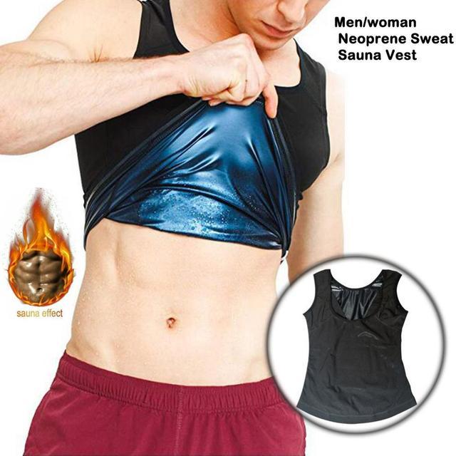 SALE Men/Women Neoprene Sweat Sauna Vest Body Shapers Vest Waist Trainer Slimming Vest Shapewear Waist Shaper Corset For Women