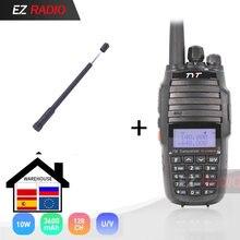 10w versão de atualização cruz banda repetidor função vhf uhf tyt TH-UV8000D rádio amador 10 km alta 10w walkie talkie 10 km uv8000e