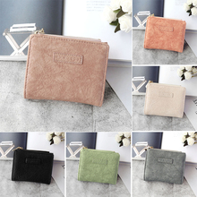 2019 Leather Women Wallet Hasp Small Slim Coin Pocket Cards Holders Fashion Ladies Card Bag Wallets Designer Purse