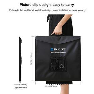 Image 5 - PULUZ 40*40cm 16inc Mini Photo Studio Box Lightbox Photograghy Softbox Led Photo Lighting Studio Shooting Tent Box Kit Light box