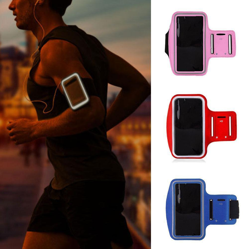 Sport Running Workout Case Arm Band For Samsung Huawei Xiaomi Android Iphone Up To 6.2 Inches Phone Bag Cover