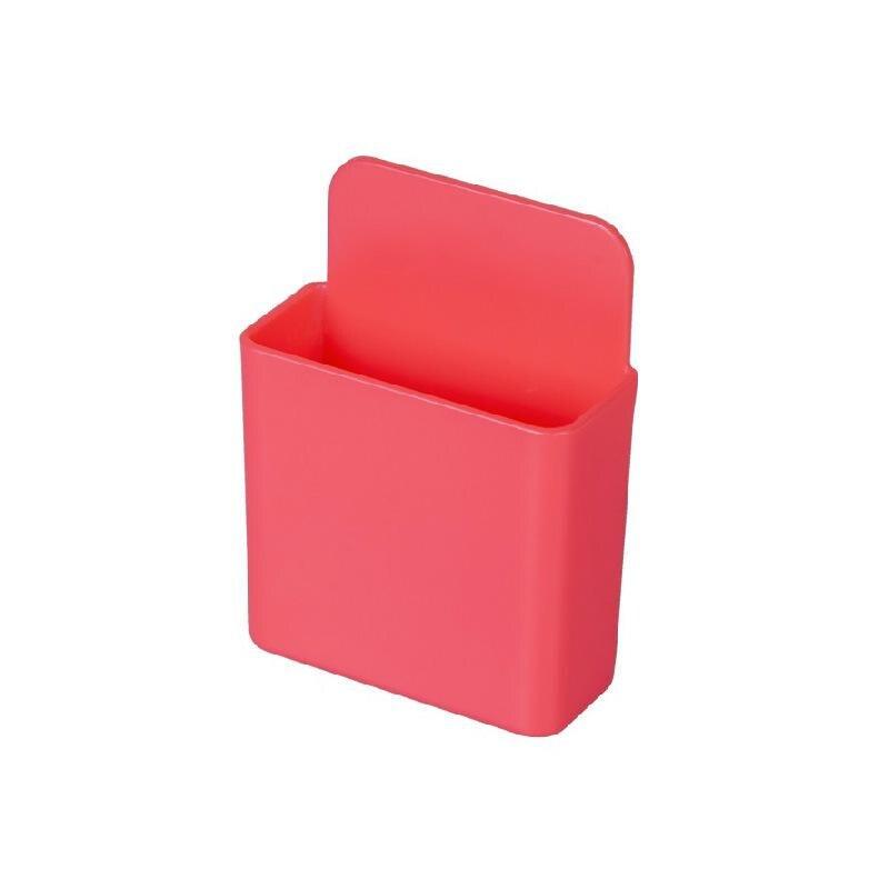 Коробка для хранения пульт дистанционного управления кондиционер чехол для хранения мобильный телефонный разъем Держатель подставка контейнер 1 шт. настенный смонтированный Органайзер - Цвет: 08 Small