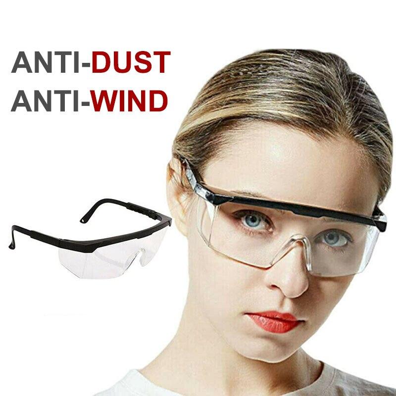 Eye Protection Virus Protective Virus Protection Glasses  Anti-Dust Shock Anti  Saliva Safety Splash Wind Proof Antivirus Glasse