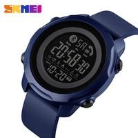SKMEI Sport Smart Men Watch Fashion Display leggero impermeabile App Bluetooth ricorda dormire Smart watch monitor 1572