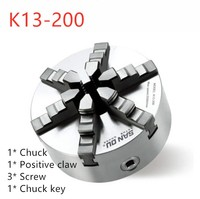 San ou k13 시리즈 (단일 포지티브 클로) K13-200 셀프 센터링 6 슬로프 조우 척