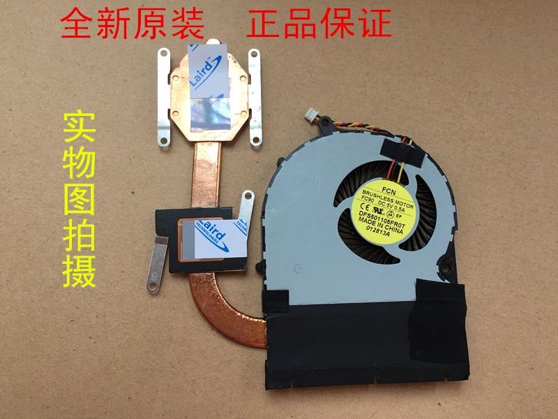 New CPU Cooler Fan/Heatsink For Toshiba Satellite P50-A P55-A P50T-A P55T-A S50 S55-A S55D Radiator DFS531305M30TDFS501105FR0T