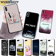 WEBBEDEPP Stray Kids Kpop Band Silicone soft Case for iPhone 5 SE 5S 6 6S Plus 7 8 11 Pro X XS Max XR