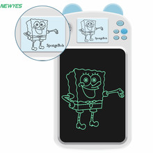NEWYES 8.5 Inch LCD Writing Tablet Drawing Electronic Monitor Light Graphics Board Toys for Kids Birthday Gifts Handwriting Pad