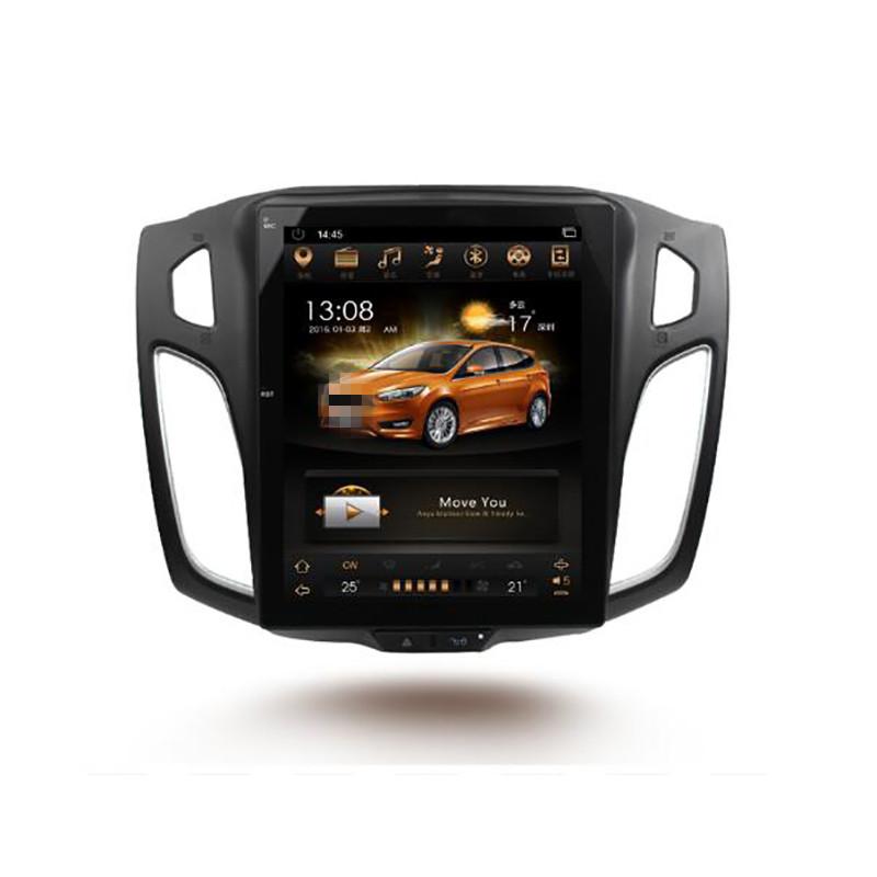 CHOGATH 10.4 ''android 7.0 Vertical Screen 2+32G Car Radio <font><b>GPS</b></font> Multimedia Stereo for <font><b>Ford</b></font> <font><b>Focus</b></font> 2012 2013 2014 2015 with maps image
