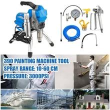 цена на High Pressure Airless Spray Gun Electric Paint Sprayer 390 Painting Machine Tool New Airless Spray Machine