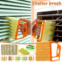 Duster-Cleaner Venetian Blind Conditioner Blade Shutter Cleaning-Brush Can-Be-Removed