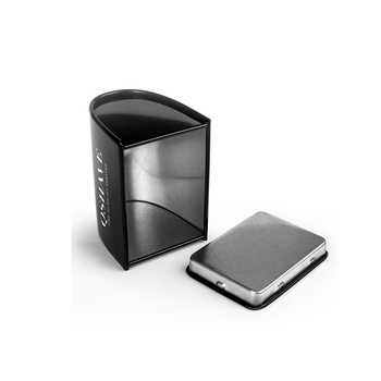 QShave Luxurious Black Adjustable Safety Razor kit Men\'s Shaving kit Holder + Razor + Blade Disposal Case +15 Blades set