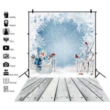 Laeacco مهرجانات عيد الميلاد الطفل لعبة هدية القديم رف خشبي الطابق طفل رضيع حزب صورة صورة خلفية التصوير خلفية