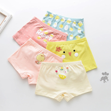 5 Pcs/lot Cartoon Children Pants Cotton Child Girl Panties For Boys Boxer Kids Briefs Panty Girls Baby Underwear Boy Underpants baby boys girls cloth diapers summer baby girls boy cotton bread pants bloomers briefs shorts panties underwear