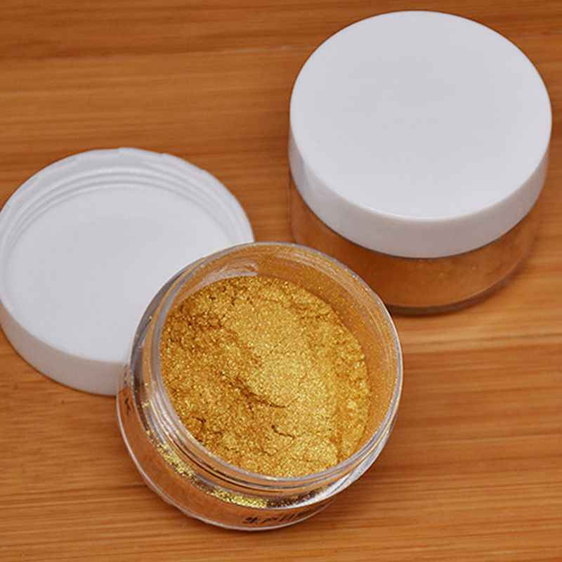 5g Edible Flash Glitter Golden Silver Powder For Decorating Food Cake Biscuit Baking Supply