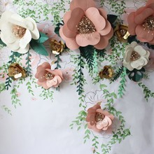 Giant Paper Flowers Peony Large Rose Chrysanthemum Diy Home Wedding Photography Background Wall Decoration Scrapbooking