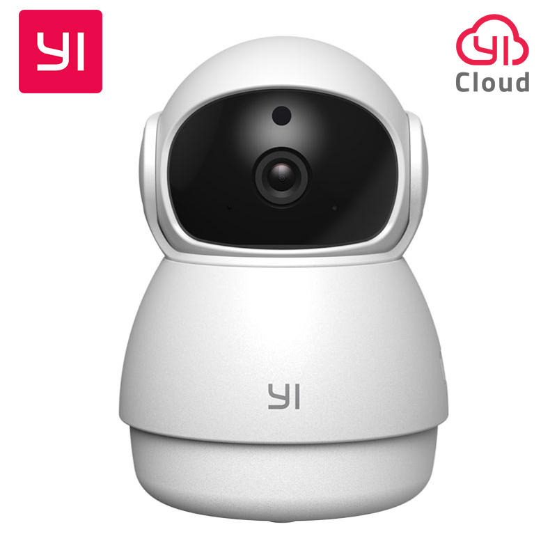 YI Dome Guard Camera 1080P Night Vision HD 360 Degree Wireless Wi-Fi IP Cam Security Surveillance Camera YI Cloud