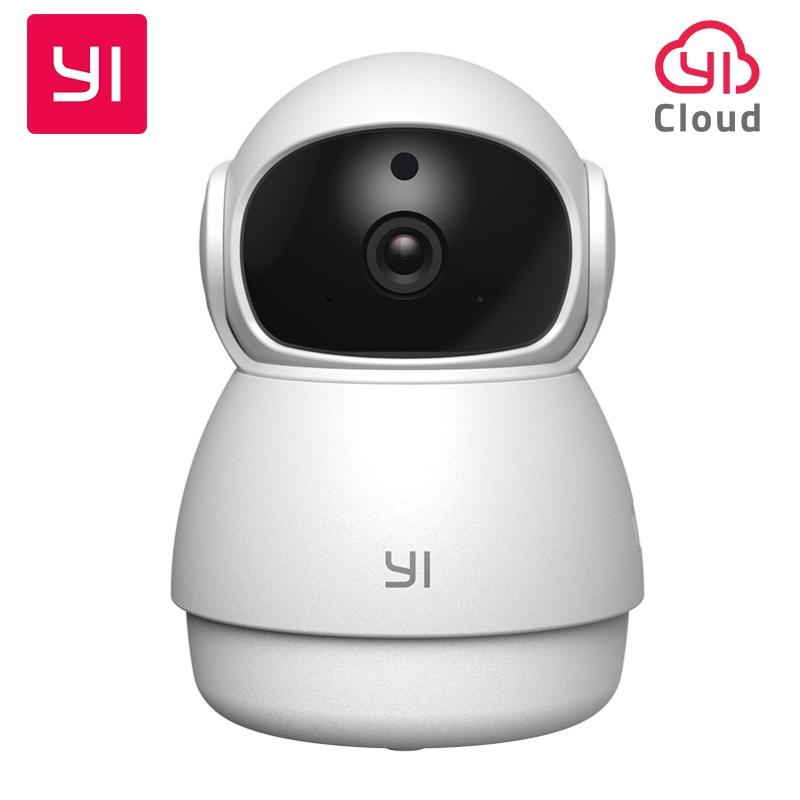 YI Dome Guard Camera 1080P Night Vision HD 360 Degree Wireless Wi-Fi IP Cam Security Surveillance Camera YI Cloud