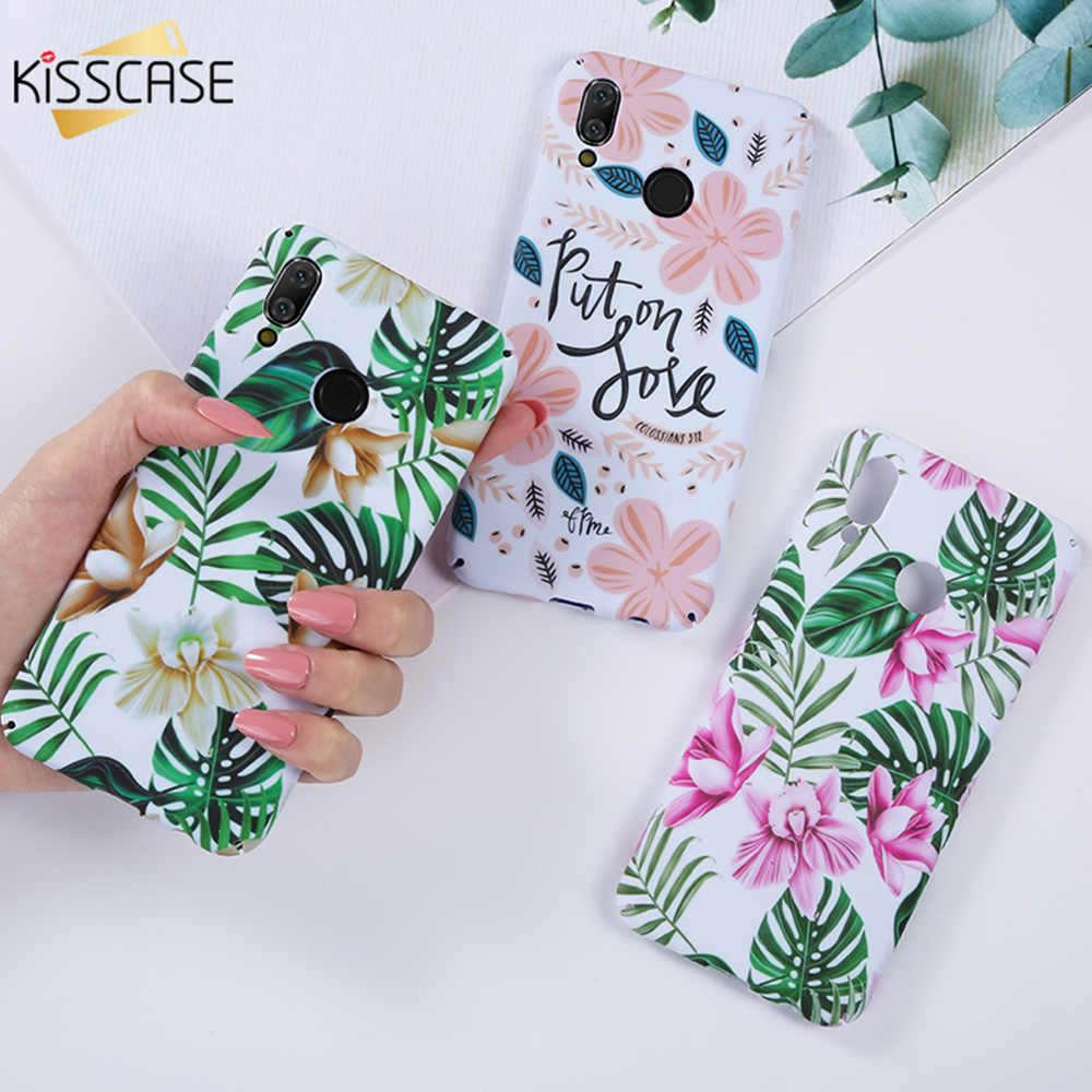 KISSCASE Matte Girly Case for Huawei Honor 9 lite/8X/10 P20 Lite Cover Luminous Case for Huawei Mate 20 Lite Honor 8X 9 Lite 10