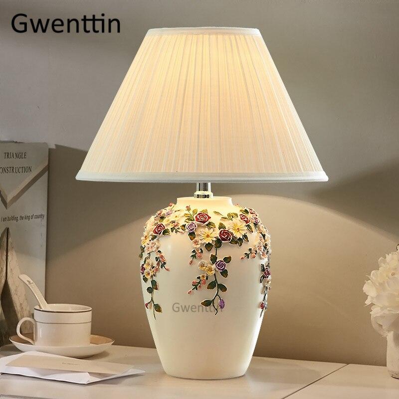 suporte luz da mesa resina standing luzes 03