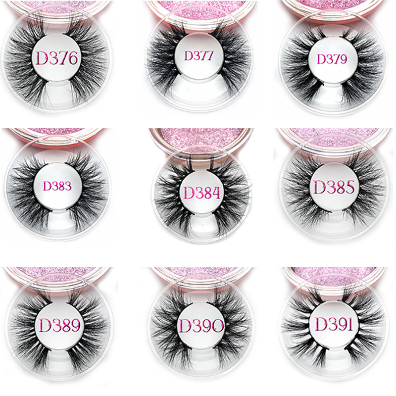 Wholesale 10/20/30/50 Pairs Eyelashes Regular Length 3D Mink Lashes Handmade Dramatic Cruelty Free Mink Lashes