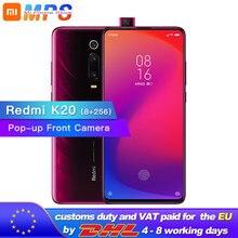 """Globalny rom Xiaomi Redmi K20 8GB 256GB telefon komórkowy Snapdragon 730 48MP tylna kamera Pop up przednia kamera 4000mAh 6.39 """"AMOLED"""
