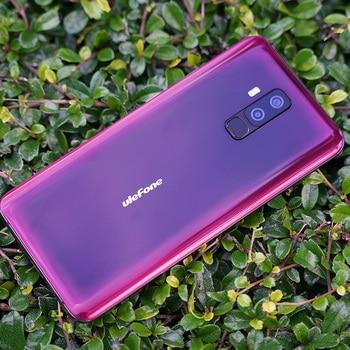 Ulefone T2 Global Version 6.7inch 6GB 128GB Mobile Phone Helio P70 Octa Core Fingerprint Wireless Charge Dual SIM 4G Smartphone