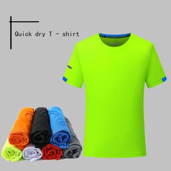 Męskie koszulki do biegania szybka kompresja na sucho t-shirty sportowe Fitness Gym koszulki do biegania koszulki piłkarskie męska koszulka sportowa tanie i dobre opinie SHEDAO Wiosna summer AUTUMN Winter Poliester Pasuje prawda na wymiar weź swój normalny rozmiar Short sleeve Black White Pink Blue Gray blue