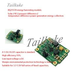BQ25570 LTC3588 niskie zużycie mikrozasilacz słoneczne wytwarzanie energii termoelektrycznej RF kolekcja energii Buck-moduł boost