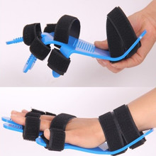 Órtesis de muñeca de mano para hombre y mujer, extensión de espasmo de dedo separado, férula Apoplexy Hemiplegia, izquierda, cinturón de hombro