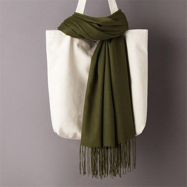 Foulards pour les femmes châles simples 3