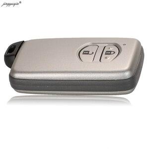 Jingyuqin умный пульт дистанционного ключа чехол 2/3/4 кнопки Fob оболочка для Toyota Aurion Avalon Landcruiser Camry Highlander RAV4