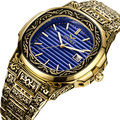 ONOLA Produto genuíno de luxo homens relógio de quartzo origem 2019 unique ouro clássico relógio de pulso à prova d' água Do Vintage moda casual homens relógio de ouro