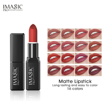 IMAGIC Waterproof 16 Colors Glossy Lipstick Set Natural Colorful Multiple Colour Luxury Gift Makeup Kits For Women