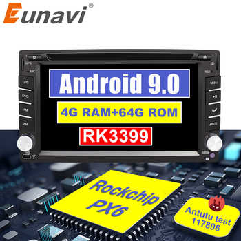 Eunavi Universal 2 Din Android 9.0 Car Radio Multimedia Player Dvd Autoradio Stereo Head unit IPS TDA7851 GPS Navigation 4G 64G - DISCOUNT ITEM  20% OFF All Category