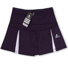 Спортивные юбки для девочек, теннисная юбка средней длины, быстросохнущая Женская белая юбка с разрезом большого размера, тонкая юбка для фитнеса, йоги, бега
