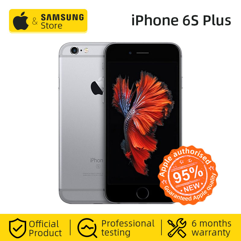 Entsperrt Apple <font><b>iPhone</b></font> <font><b>6S</b></font> Plus Smartphone A9 Dual Core 16/32/64/128GB ROM 5,5 zoll 1080P 12,0 MP Kamera 4G LTE Verwendet handy image